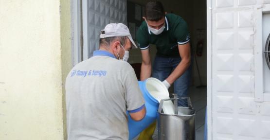 Alıcık Köyünde günlük  1200 litre süt toplanıyor