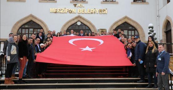 ANITKABİR'DE İDİ  ŞİMDİ MERZİFON'DA