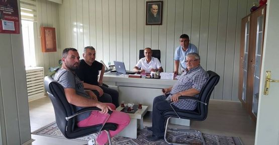 BAŞKANLAR TORUN'U ZİYARET ETTİ