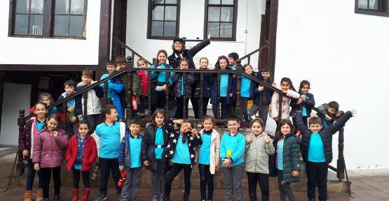 Bilgi ve Öğrenme Merkezinin konukları  Atatürk İlköğretim okulu öğrencileri oldu.