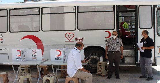 bir haftada 230 ünite  kan bağışı toplandı