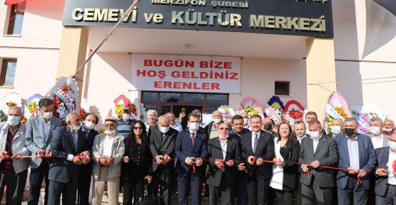 Cemevi'nin açılışı yapıldı