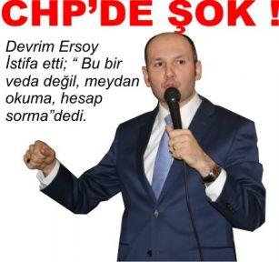 CHP'DE ŞOK !