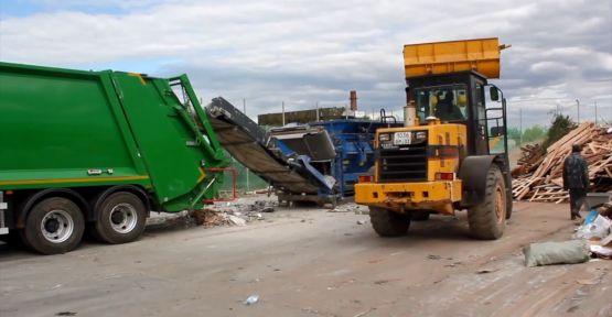 Çöp kamyonu ve iş makinesi kiralanacak