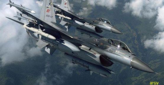 Diyarbakır'a Merzifon'dan Savaş Uçağı Takviyesi