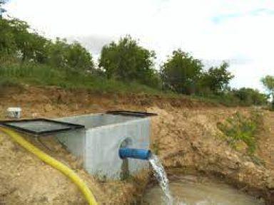 Elazığ Sivrice İlçesi Dereboynu Köyü Sulama Suyu Tesisi Yapımı