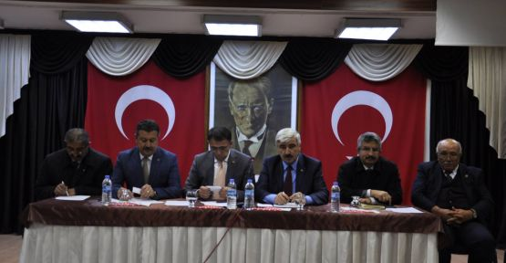 İl Genel Meclisi toplantısı Merzifon'da gerçekleştirildi.