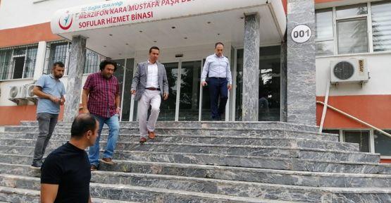İL MÜDÜRÜ NERGİZ, MERZİFON'DA  İNCELEMELERDE BULUNDU