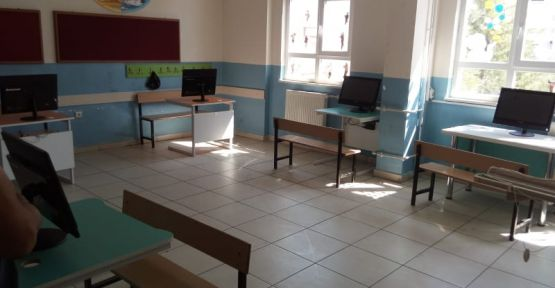 internet ve bilgisayarı olmayan öğrenciler için EBA Destek noktaları oluşturuldu.