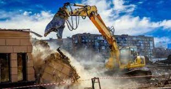 Kaçak binaların yıkım işi yaptırılacak