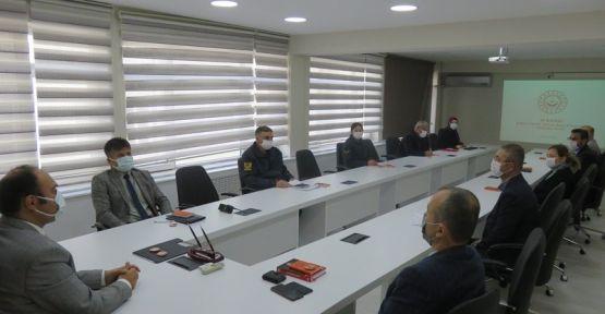 Kadına Şiddete Karşı  toplantı düzenlendi.