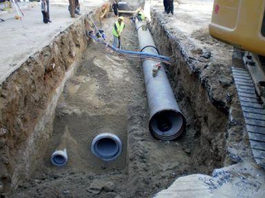 Kanalizasyon hattı inşaatı yaptırılacak