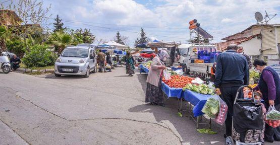 Kent - köy pazarı yaptırılacak