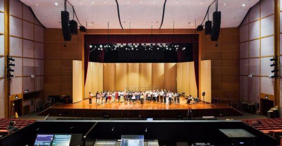 Konferans salonu ses sistemi satın alınacak