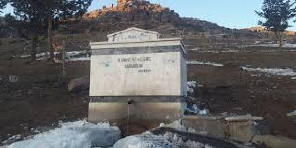 Köyler için içme suyu tesisi yaptırılacak