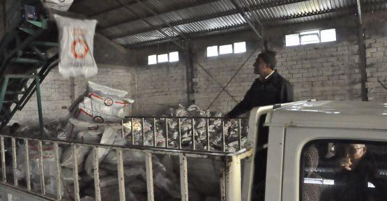Merzifon'da kömür dağıtımına start verildi