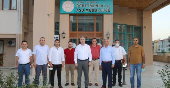 MERZİFON'DA TOPLANILDI