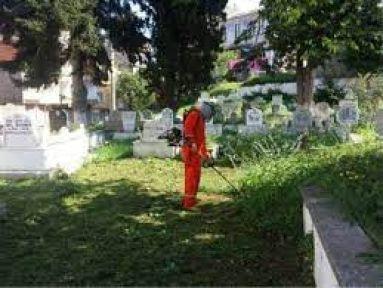 Mezarlık çevre düzenleme işi yaptırılacak