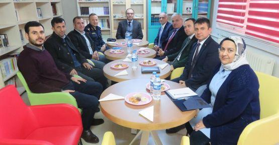 """""""Okul ve Çevre Güvenliği""""  toplantısı gerçekleştirildi"""