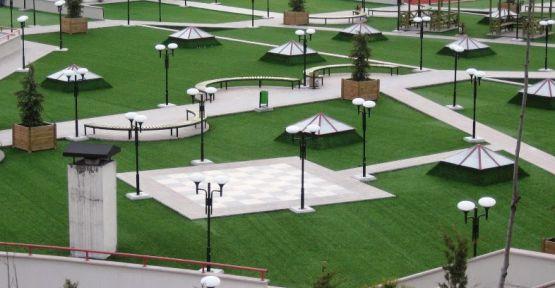 Park ve çevre düzenlemesi yaptırılacak