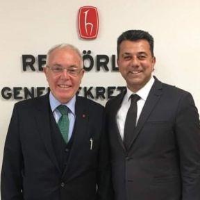 Prof. Dr. Haluk Özen'den  Mervak'a Destek Geldi