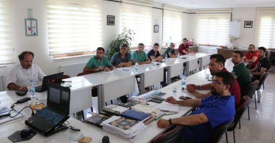 saha personelleri ile  eğitim toplantısı yapıldı