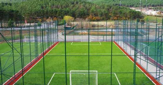 Sentetik çim yüzeyli mini futbol sahası yaptırılacak