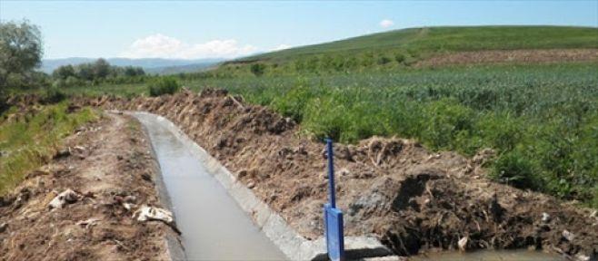 Sulama tesis inşaatı yaptırılacak
