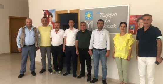 TOPAL'DAN  DOST ZİYARETİ