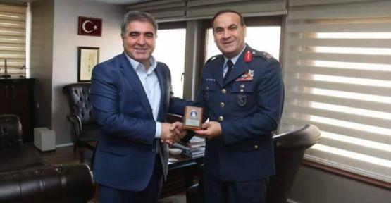 Tuğgeneral Dalkıran Başkan Özdemir'i Ziyaret Etti