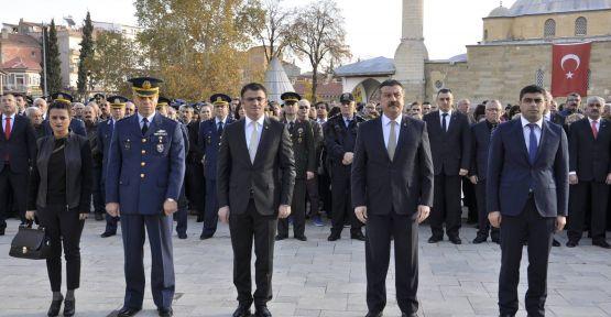 Ulu Önder Atatürk Merzifon'da SAYGI VE MİNNETLE ANILDI