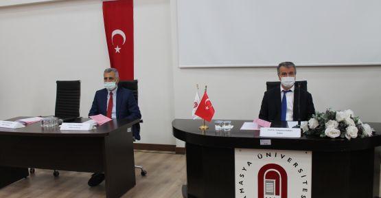 ÜNİVERSİTE SENATOSU MERZİFON'DA TOPLANDI