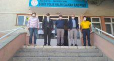 CHP'Lİ GENÇLERDEN  OKULLARA DESTEK