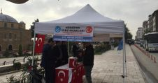 MERZİFON ÜLKÜ OCAKLARI'NDAN, MEHMETÇİĞE DESTEK