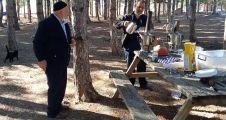 huzurevi sakinlerine  piknik dopingi