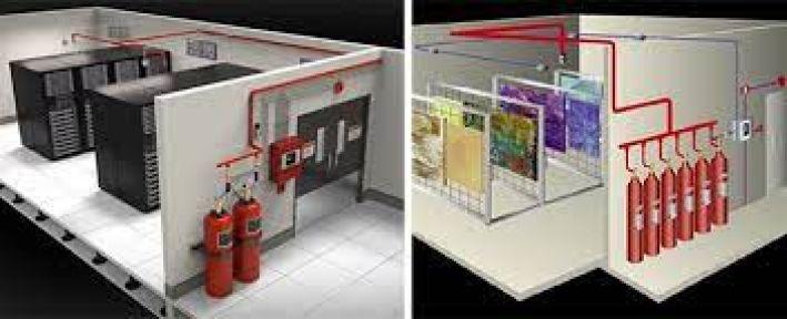 Yangın algılama ve söndürme sistemi alınacak