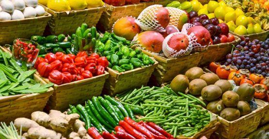Yaş sebze ve meyve alınacak