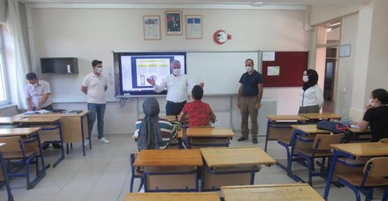 yaz dönemi destekleme  ve yetiştirme kursları açıldı.