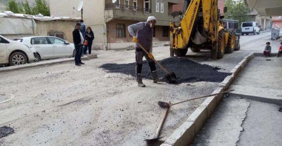 Yollarda asfalt yama yapılacak
