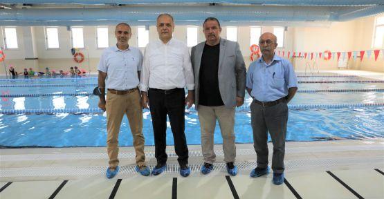 Yüzme Havuzu  Ziyaret Edildi