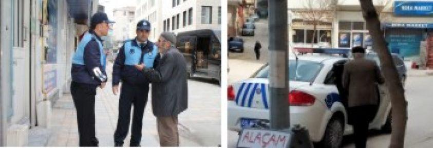 ZABITADAN KAÇAN  POLİSE YAKALANIYOR