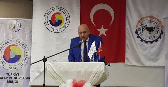 """GENEL BAŞKANA SÖZ VERDİ """"SANAYİ BAŞKENTİ OLACAĞIZ"""""""